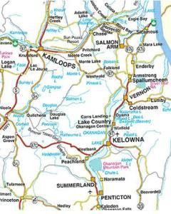 Vernon map