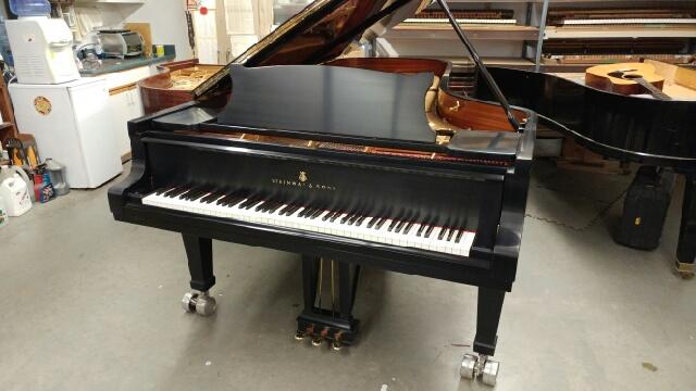 vernon performing arts centre piano