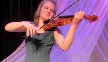 Alysha Black plays Bruch's Violin Concerto in D Minor