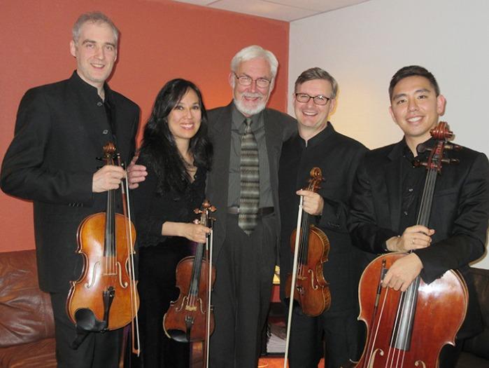 Borealis String Quartet with Imant Raminsh
