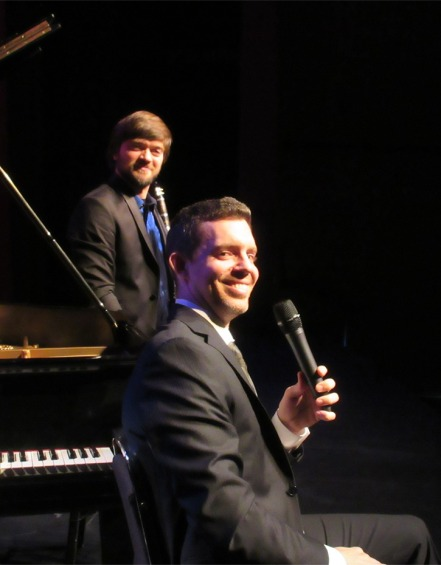 Pianist Chris Donnelly and clarinetist Kornel Wolak