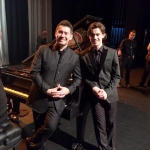 ian parker and jaeden izik-dzurko nocca concert